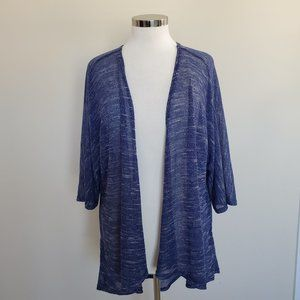 LulaRoe LLR Open Knit Open Front Cardigan Sweater